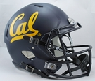 CAL California Riddell NCAA Full Size Deluxe Replica Speed Football Helmet