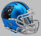 Carolina Panthers - Blaze Alternate Speed Riddell Mini Football Helmet