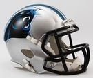 Carolina Panthers Speed Revolution Riddell Mini Football Helmet