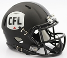 CFL Canadian Football League Speed Riddell Mini Football Helmet