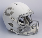 Chicago Bears Riddell ICE Alternate NFL Full Size Deluxe Replica Speed Football Helmet