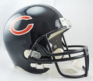 Chicago Bears Riddell NFL Full Size Deluxe Replica Football Helmet