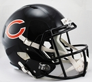 Chicago Bears Riddell NFL Full Size Deluxe Replica Speed Football Helmet