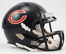 Chicago Bears Speed Revolution Riddell Mini Football Helmet