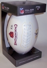 Chicago Bears Super Bowl XX Champs Signature Series Team Logo Full Size Footballs