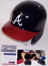 Chipper Jones - Autographed Full Size Authentic Batting Helmet - Atlanta Braves - PSA/DNA