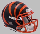 Cincinnati Bengals - Blaze Alternate Speed Riddell Mini Football Helmet