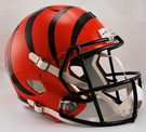 Cincinnati Bengals Riddell NFL Full Size Deluxe Replica Speed Football Helmet