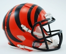 Cincinnati Bengals Speed Revolution Riddell Mini Football Helmet