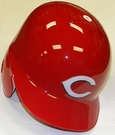 Cincinnati Reds Rawlings Pro Full Size Authentic MLB Left Handed Batting Helmet - Model Number: CCPBHSR