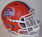 Clemson Tigers 2016 National Champs Riddell NCAA Full Size Deluxe Replica Speed Football Helmet