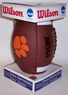 Clemson Tigers Logo Full Size Football - Wilson F1738
