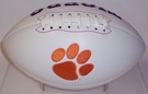 Clemson Tigers Logo Full Size Signature Series Football