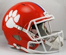 Clemson Tigers Riddell NCAA Full Size Deluxe Replica Speed Football Helmet