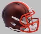 Cleveland Browns - Blaze Alternate Speed Riddell Mini Football Helmet