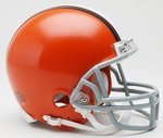 Cleveland Browns 2006-2014 Throwback Riddell Mini Football Helmet