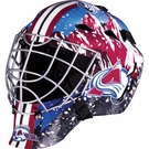 Colorado Avalanche Full Size Youth Goalie Mask