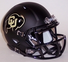 Colorado Buffaloes Speed Revolution Riddell Mini Football Helmet