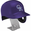 Colorado Rockies - Rawlings Full Size MLB Batting Helmet - Model Number: MLBRL-COL
