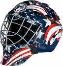 Columbus Blue Jackets Full Size Youth Goalie Mask