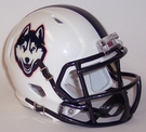 Connecticut UCONN Speed Riddell Mini Football Helmet