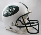 Curtis Martin - Autographed New York Jets Riddell Full Size Authentic Proline Football Helmet