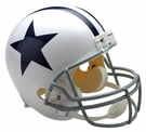 Dallas Cowboys 1960-1963 Throwback Riddell NFL Full Size Deluxe Replica Football Helmet