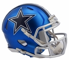 Dallas Cowboys - Blaze Alternate Speed Riddell Mini Football Helmet
