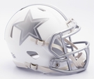 Dallas Cowboys - ICE alternate Speed Riddell Mini Football Helmet
