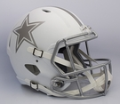 Dallas Cowboys Riddell ICE Alternate NFL Full Size Deluxe Replica Speed Football Helmet