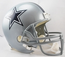 Dallas Cowboys Riddell NFL Full Size Deluxe Replica Football Helmet