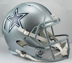 Dallas Cowboys Riddell NFL Full Size Deluxe Replica Speed Football Helmet