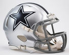 Dallas Cowboys Speed Revolution Riddell Mini Football Helmet