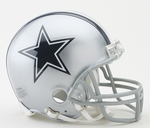 Dallas Cowboys VSR4 Riddell Mini Football Helmet