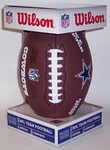 Dallas Cowboys - Wilson F1748 Composite Leather Full Size Football