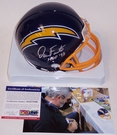 Dan Fouts - Riddell - Autographed Mini Helmet - San Diego Chargers - PSA/DNA