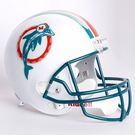 Dan Marino - Autographed Miami Dolphins Throwback Riddell Full Size Deluxe Football Helmet