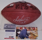 Dan Marino - Autographed Official Wilson Leather NFL Football - PSA/DNA