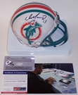 Dan Marino - Riddell - Autographed Mini Helmet - Miami Dolphins Throwback - PSA/DNA