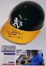 Dennis Eckersley - Rawlings - Autographed Full Size Authentic Batting Helmet - Oakland Athletics - PSA/DNA