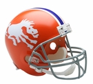 Denver Broncos 1966 Throwback Riddell NFL Full Size Deluxe Replica Football Helmet