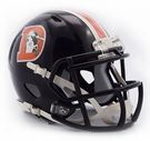 Denver Broncos - Color Rush Alternate Speed Riddell Mini Football Helmet