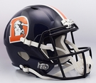 Denver Broncos Color Rush Riddell NFL Full Size Deluxe Replica Speed Football Helmet
