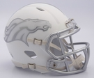 Denver Broncos - ICE alternate Speed Riddell Mini Football Helmet