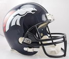 Denver Broncos Riddell NFL Full Size Deluxe Replica Football Helmet