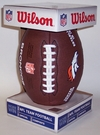 Denver Broncos - Wilson F1748 Composite Leather Full Size Football