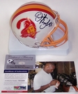 Derrick Brooks - Riddell - Autographed Mini Helmet - Tampa Bay Bucs Throwback - PSA/DNA