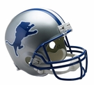 Detroit Lions 1983-2002 Throwback Riddell NFL Full Size Deluxe Replica Football Helmet