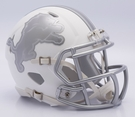 Detroit Lions - ICE alternate Speed Riddell Mini Football Helmet