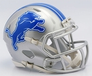 Detroit Lions Speed Riddell Mini Football Helmet